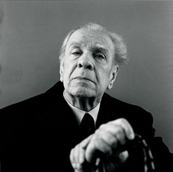 Borges en 1972 - Humberto Rivas