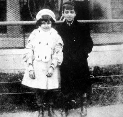 Con Norah en el zoo,1908