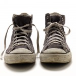 Reality Tour shoes 2004 The David Bowie Archive