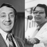 Harvey Milk (izq.) y Jim Jones