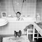 Lee Miller en la bañera de Hitler © David E. Scherman