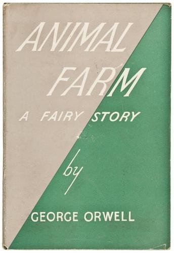 the theme of abuse of power in animal farm by george orwell
