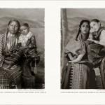A la izquierda, foto de hace cien años de una madre india con su hija. A la derecha, una madre actual de la India con su hija adoptiva estadounidense.