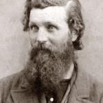 John Muir a los 34 años. Foto: H. W. Bradley - Wkimedia Commons