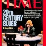 """Cubierta de Time (agosto, 1995) con un cuadro de Hopper y el titular """"El blues del siglo XX"""""""