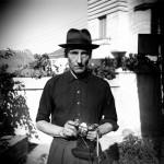 Unknown Photographer, Burroughs in the Villa Mouniria Garden, Tangier © Estate of William S. Burroughs