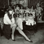 "Jean Shrimpton - ""The Dolls House"" © Terry O'Neill"