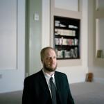 Imam Suhaib Webb, 2012, Un imán musulmán nacido en los EE UU y residente en el país. De la serie Los conversos (Courtesy of Claire Beckett and Carroll and Sons Art Gallery, Boston)