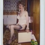 "Martina Kubelk, untitled, Polaroid from the photo album ""Martina Kubelk. Kleider - Unterwaesche"" (Martina Kubelk. Dresses - Lingerie), 1988 - 1995, Courtesy Galerie Susanne Zander / Delmes & Zander"