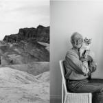 Izquierda, 1974, 29 años - Derecha, 2014, 69 años © Lucy Hilmer