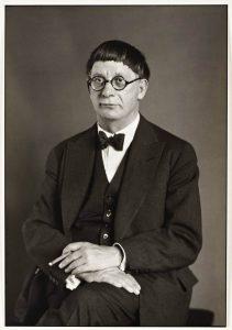 """The Architect"" [Hans Poelzig], 1929. Foto: August Sander - Tate Gallery"