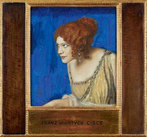 Franz von Stuck, Tilla Durieux as Circe, cf. 1913 © Belvedere, Vienna