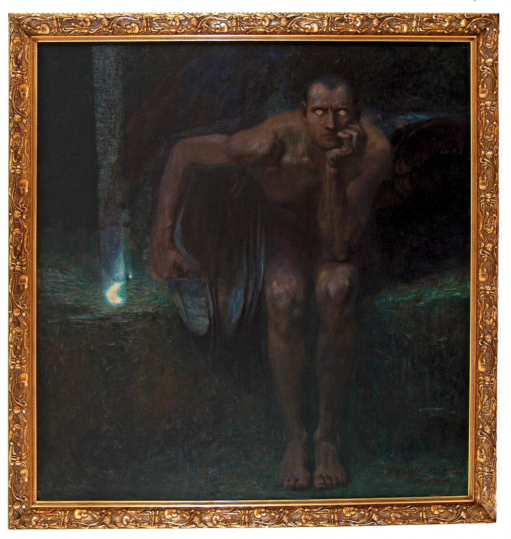 Franz von Stuck, Lucifer, 1890/1891 © The National Gallery, Sofia
