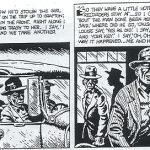 Viñetas de Robert Crumb sobre el viaje a Grafton de los bluseros del Delta
