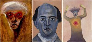 Tres dibujos de Schöenberg