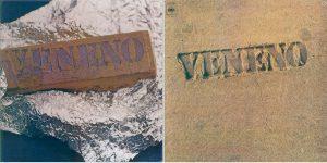 'Veneno', portada original y la censurada